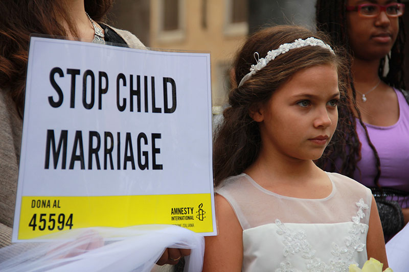 Mai più spose bambine - Amnesty International