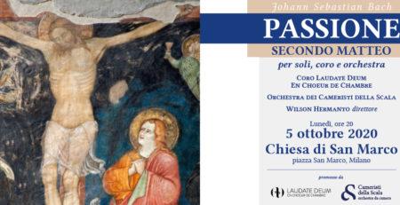 Passione secondo Matteo di Bach